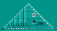 Half Square 4-in-1 Triangle Ruler (Creative Grids)