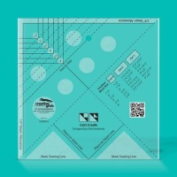 "Cat's Cradle Ruler - 1 ½"" - 4""(Creative Grids)"