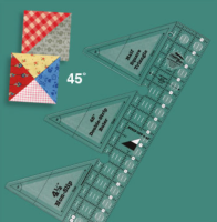 45° Degree Double Strip Ruler (Creative Grids)