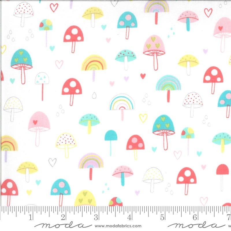 <!--20210323-->Moda - Hello Sunshine - Mushrooms - 35351 11 (White)