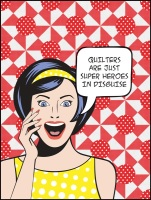 Moda - Super Heroes in Disguise - Quilt Kit