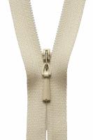 Concealed Zip - 20cm / 8in - Honey