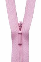 Concealed Zip - 20cm / 8in - Mid Pink