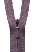 Concealed Zip - 20cm / 8in - Grape