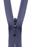 Concealed Zip - 20cm / 8in - Dark Grape