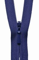 Concealed Zip - 20cm / 8in - Dark Purple