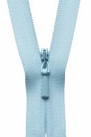 Concealed Zip - 23cm / 9in - Baby Blue