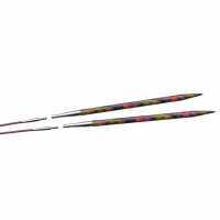 Circular Interchangeable Knitting Pins - Birchwood - 5.00mm - Set of 2 (KnitPro Symfonie)