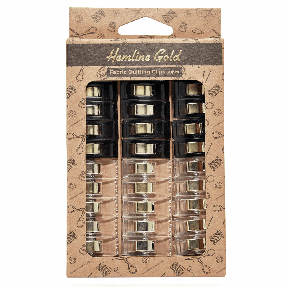 Quilters Clips - Pack of 30