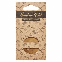 Rotary Cutter Blade - 45mm (Hemline Gold)