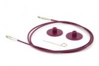 Circular Interchangeable Cable - 150cm - Purple (KnitPro)