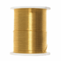 Beading Wire - 28 Gauge - Gold (Trimits)