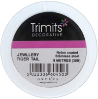 Beading  Wire - Tiger Tail - Black (Trimits)