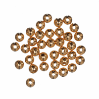 Brass Beads - Gold Plated - 3mm (Trimits)