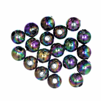 Beads - 8mm - Rainbow (Trimits)