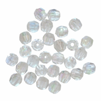 Beads - Faceted - 4mm - Aurora (Trimits)