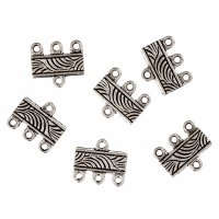 3 to 1 Strand Connector - Silver (Trimits)