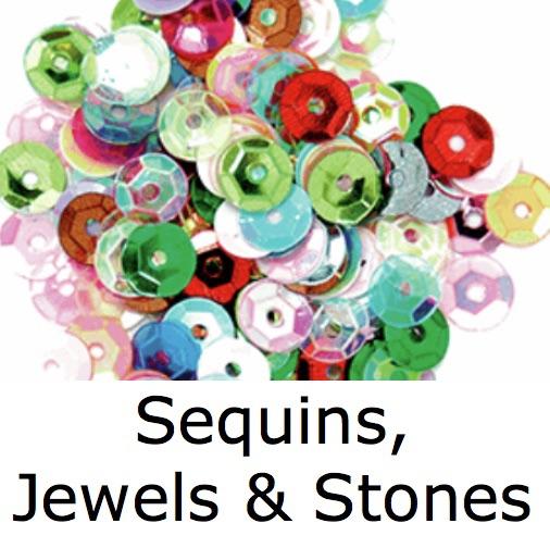 Sequins, Jewels & Stones