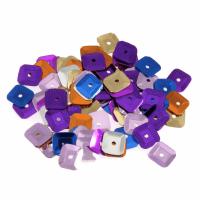 Sequins - Square - 7mm - Multi-coloured (Trimits)