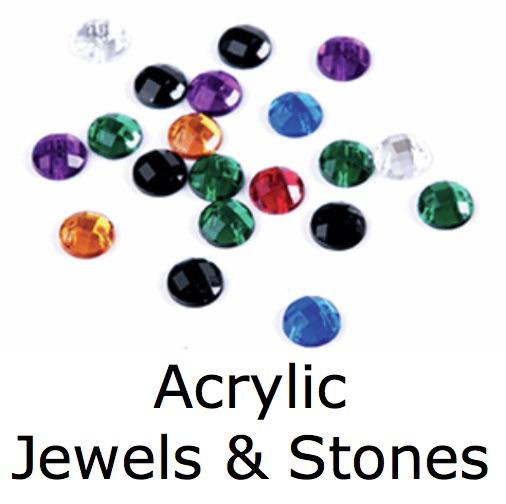 Acrylic Jewels & Stones