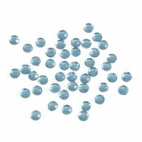 Acrylic Stones - Glue-On - Round - 4mm - Blue (Trimits)