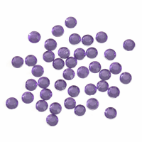 Acrylic Stones - Glue-On - Round - 5mm - Lilac (Trimits)