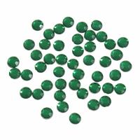 Acrylic Stones - Glue-On - Round - 5mm - Green (Trimits)