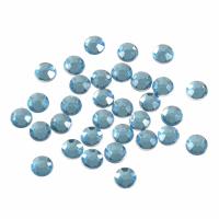 Acrylic Stones - Glue-On - Round - 7mm - Blue (Trimits)