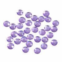 Acrylic Stones - Glue-On - Round - 7mm - Lilac (Trimits)