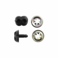 Toy Noses - Animal / Dog - 12mm - Black (Trimits)