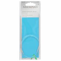 Circular Knitting Pins - Aluminium - 2.75mm x 80cm - Fixed (Milward)