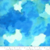 Moda - Fanciful Forest - Clouds - 33575 15 (Turquoise)
