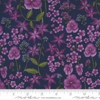 Moda - Violet Hill - Floral - 6823 16 (Eggplant)