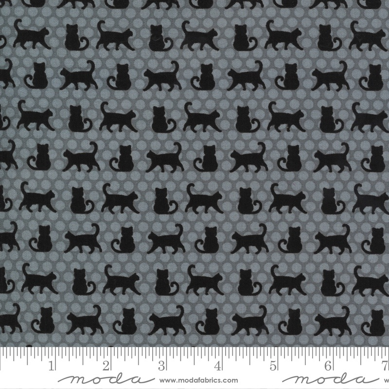 Moda - Midnight Magic 2 - Cat Parade - 24102 16  (Mist)