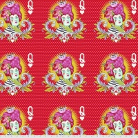 Tula Pink - Curiouser & Curiouser - The Red Queen - PWTP160.WONDER