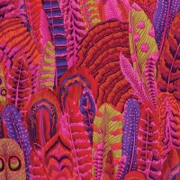 Feathers - Red - PWPJ055.REDXX - Kaffe Fassett Collective