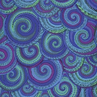Curly Baskets - Cobalt - PWPJ066.COBAL - Kaffe Fassett Collective