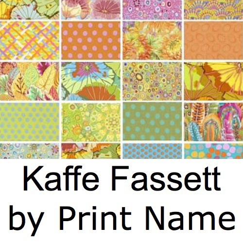 Kaffe Fassett Collective - Fabrics by Print Name
