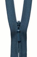 Concealed Zip - 20cm / 8in - Dark Navy
