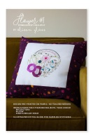 Flower #1 - Embroidery Printed Sampler - Alison Glass