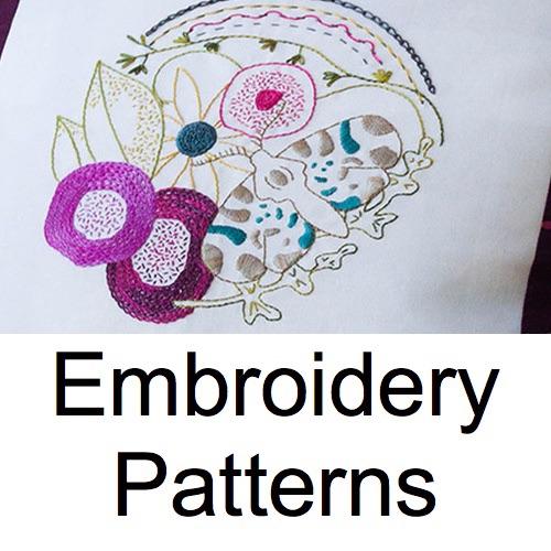 Embroidery & Stitching Patterns