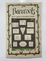 Pattern for Quilt and Stitchery Labels - Bareroots