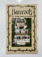 Sewing Things - Pattern for Stitchery Basket and Accessories - Bareroots