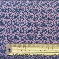 Glitter Denim - Pink / Indigo - No. KF8203