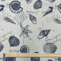 Hessian - Large Seashells
