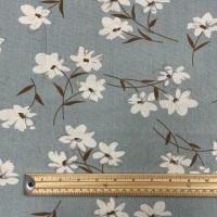 Hessian - Blue Blossom