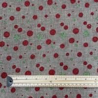 Hessian - Glitter Dots