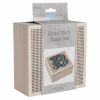 Cross Stitch Trinket Box - Large (Trimits)