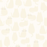 Makower - Whiskers & Dash - Whiskers - 9168/L (Creme)