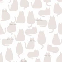 Makower - Whiskers & Dash - Whiskers - 9168/L1 (Haze)